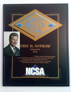 Eric Ostrow, Candy Hall of Fame