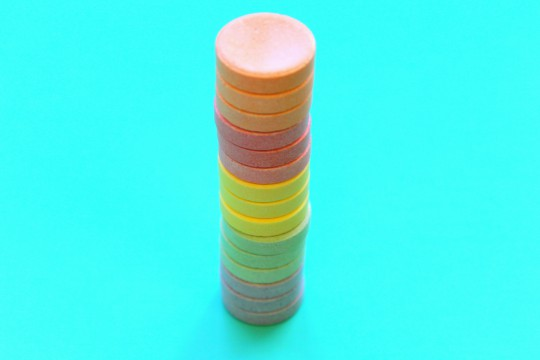 Leaning Tower of Smarties